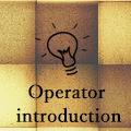 An operator introduction
