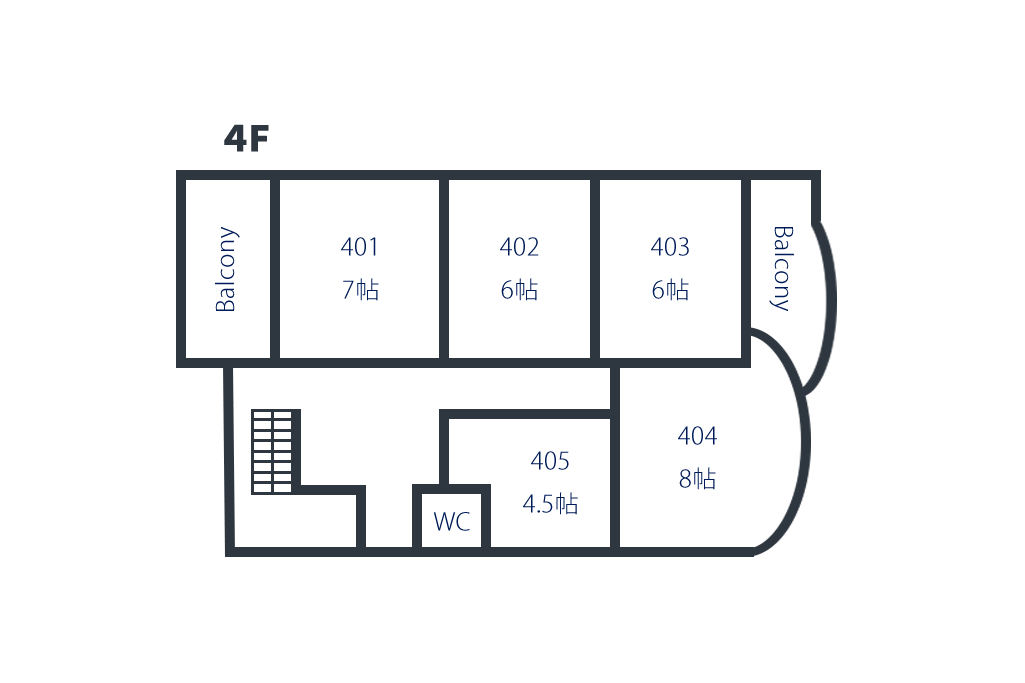 間取り図4階