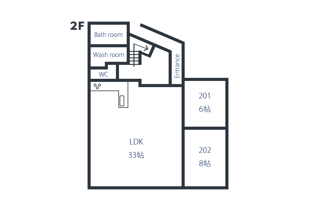 間取り図2階