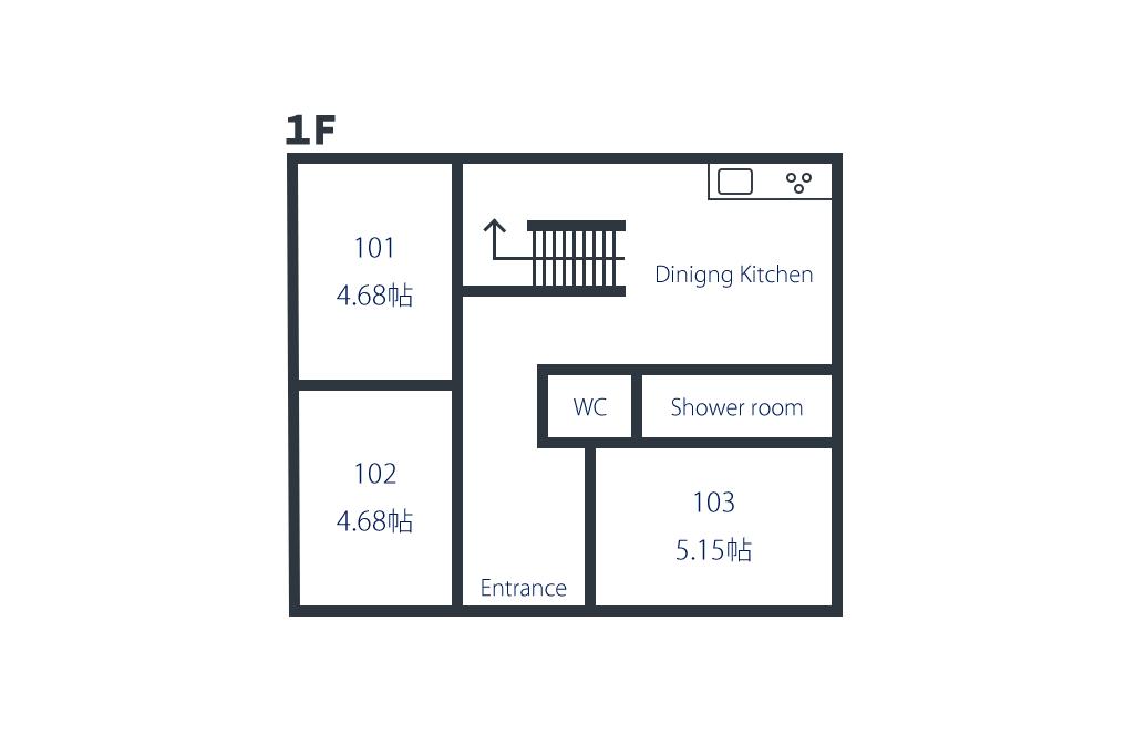 間取り図1階